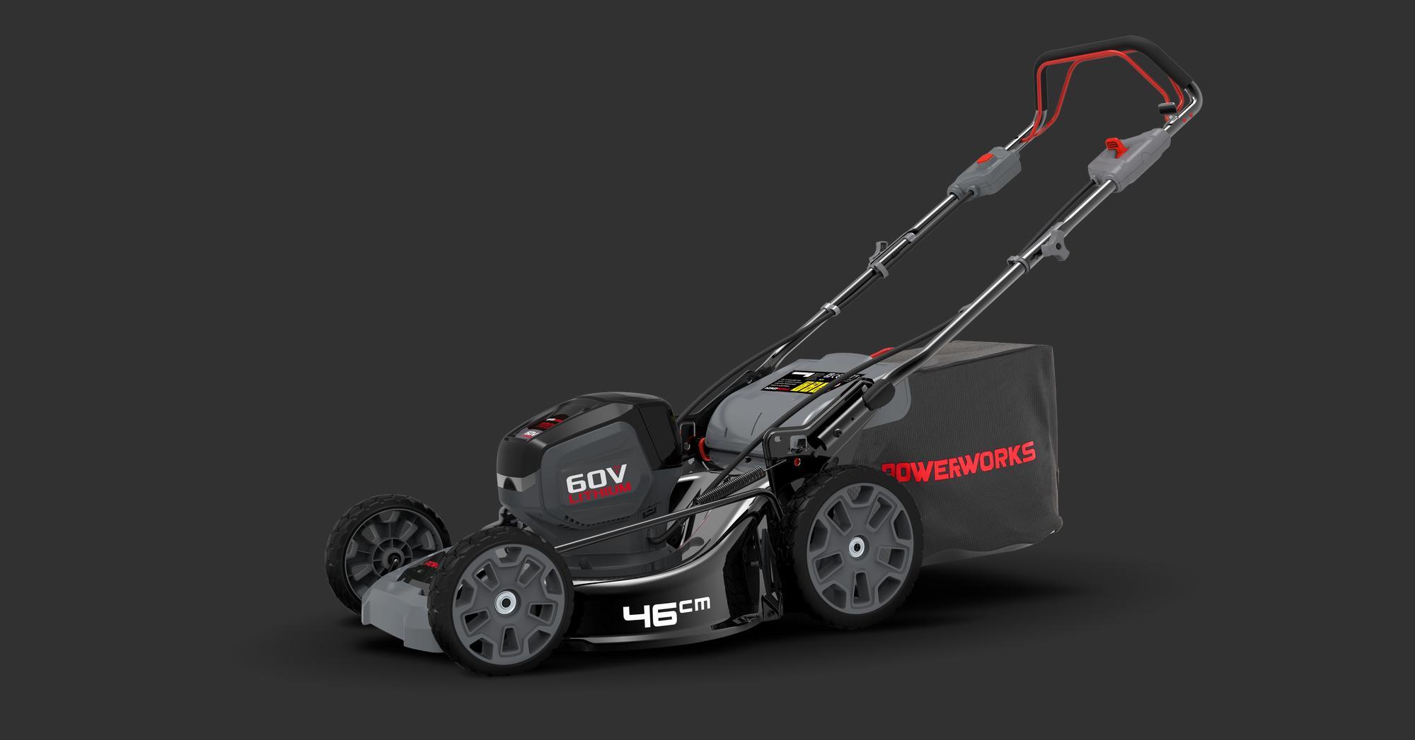 Powerworks Lawn Mower 46 Cm Sp